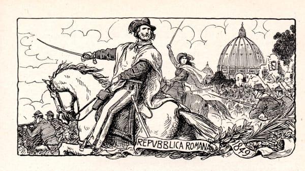"""Quando cartoline e documenti raccontano la storia: """"La Repubblica Romana del 1849"""" come non l'avete mai vista"""