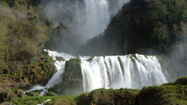 Cascata delle Marmore, la forza della natura