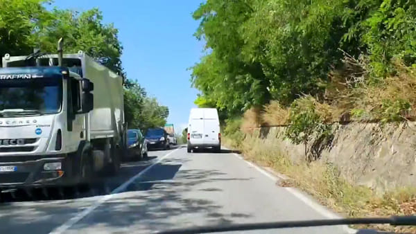 """Viadotto chiuso, """"ingorghi disastrosi"""": viaggio nel traffico caos fra Orte e Terni"""