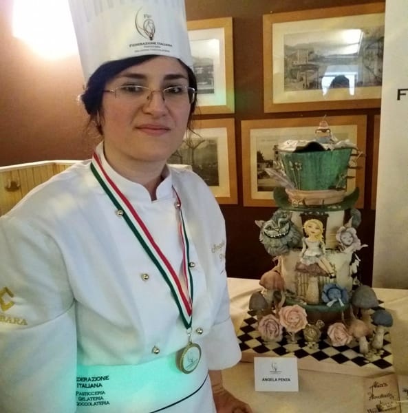 La cake designer Angela Penta